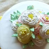 old rose cake