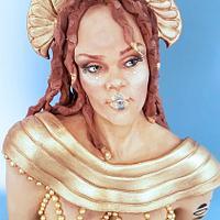 Goddess Hathor for Egypt - Land of Mistery Collaboration