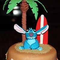 Stitch Cake by Sonya