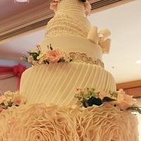 My 1st Wedding Cake