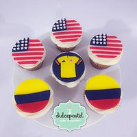 Cupcakes Colombia & USA