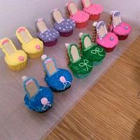 High Heel Shoe Cupcakes by Sharon Cooper