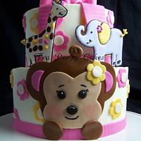 Jacana Monkey Baby Shower