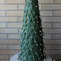 CPC Christmas Collaboration- Christmas Tree Cake