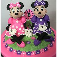 Minnie Mouse For Twins