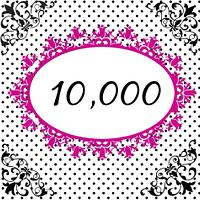 10,000 likes - eeeek!