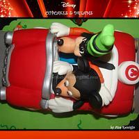 MICKEY & GOOFY RIDE... by Ana Remígio - CUPCAKES & DREAMS Portugal