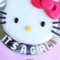 Hello Kitty Cake by Guilt Desserts