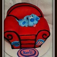 Blue's Clues Birthday Cake