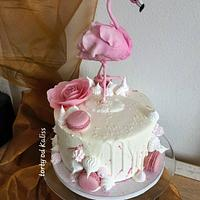 Flamingo for birthday