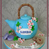 Japanese Tea Pot Cake