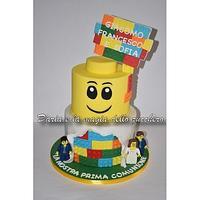 Lego cake by Daria Albanese
