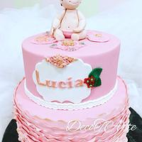 Lucia´s baptism cake