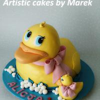 Birthday duck 3D