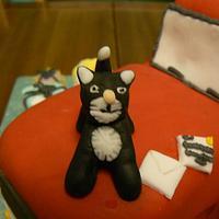 Post man pat & his cat! by Anita's Cakes