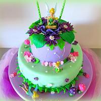Tinerbell cake