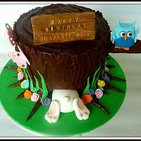 Easter cake by The cake shop at highland reserve