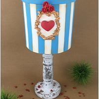 Vintage Box - Proposal Cake