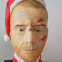 Yippee-ki-yay... Bruce Willis in his Santa attire.. CPC Christmas Collaboration