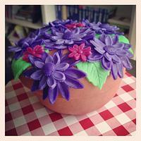 Flower cake by marieke