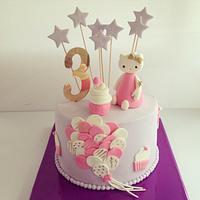 Hellokitty cake