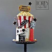 Movieday Birthday cake