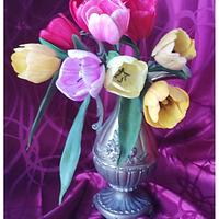 Tulips (sugar flowers)