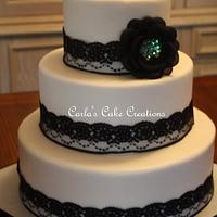 Lace WeddingCake