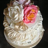 Nana Greens 80th Birthday Cake by Lisa Templeton