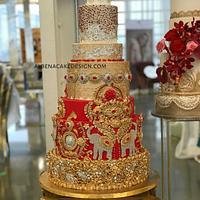 Indian Wedding Cake 4