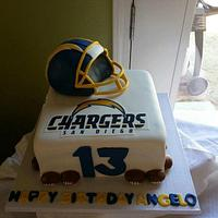 San Diego Chargers Cake - cake by Specialty Cakes by ...