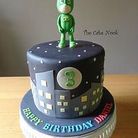 Gekko, PJ Masks Cake