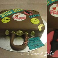 Suitcase Cake :)