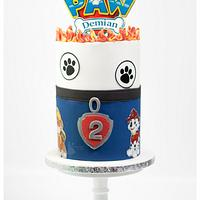 Cool cake for a cool kid