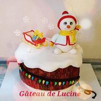 Sweet christmas collaboration  My little snowman