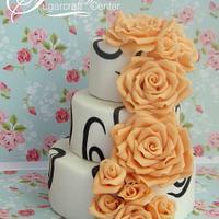 Mini Roses Cake