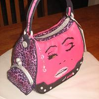 Betsey Johnson Purse - Hand Painted!! All Completely Edible!!! by Kristen