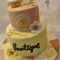 Business Anniversary Cake