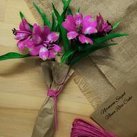 Alestroemeria  Sugar Flower