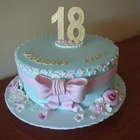 18th birthday cake