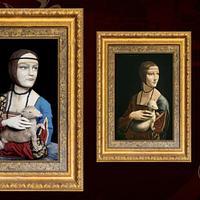 La dama del armiño / Leonardo Davinci
