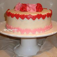 VALENTINES DAY CAKE by Linda