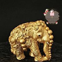 "Beautiful Sri Lanka - ""The Golden Grand Elephant"" It's all CAKE!!"