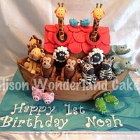 Noah's Ark for Noah by AlisonWonderland