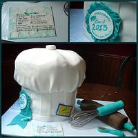 Pastry school graduation