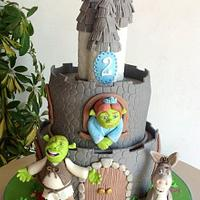 Sherk ,Fiona e ciuchino  by Sabrina Di Clemente