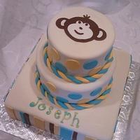 Mod Monkey Birthday by Elena Z