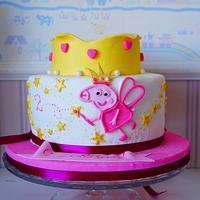 peppa pig cake by Evgenia