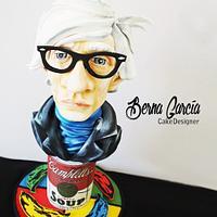 Primavera con Arte Andy Warhol by Berna García IlusionaCakes by Berna García / Ilusiona Cakes