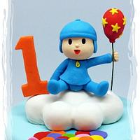 """Hola! It's Pocoyo """"Up, Up & Away With Balloons!"""""""